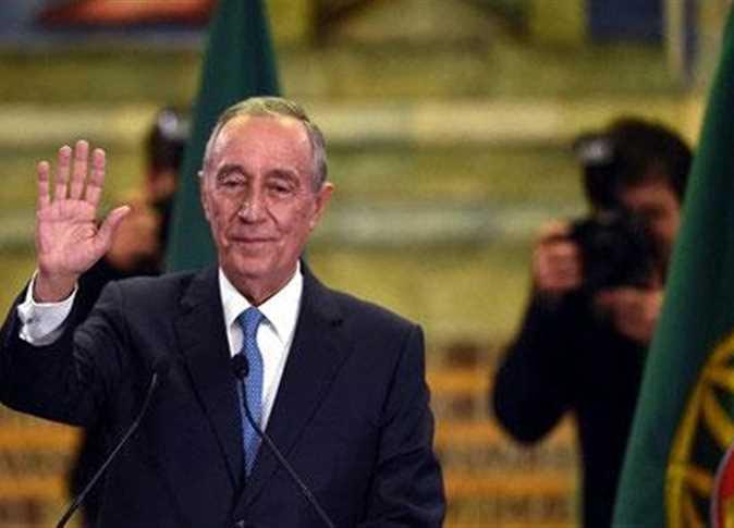 الرئيس البرتغالي يشيد بحضارة وتاريخ مصر التي تعود لآلاف السنين