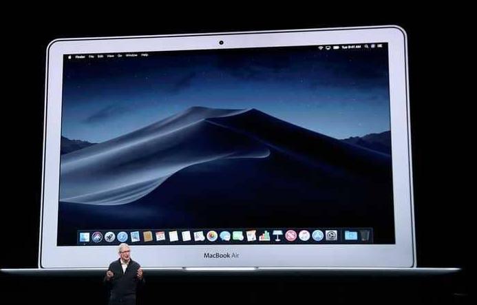 """ابل تعلن عن مواصفات كمبيوتر """"ماك بوك إير"""" الجديد 2018"""