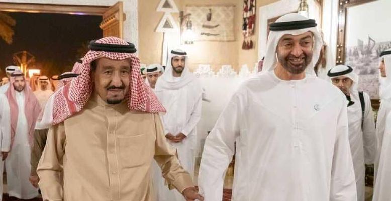 ولي عهد أبو ظبي يؤكد أن الإمارات ستبقى في خط واحد مع السعودية