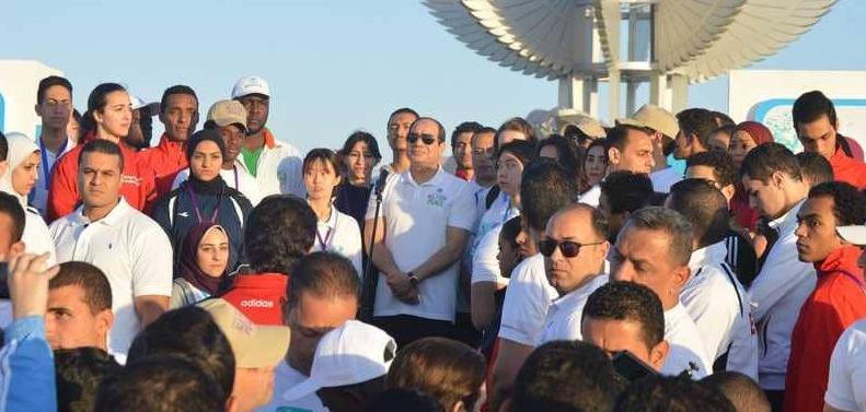 145 دولة تشارك في انطلاق منتدى شباب العالم في شرم الشيخ