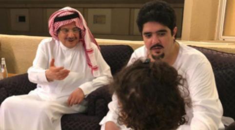 عبد العزيز بن فهد يظهر في أجواء عائلية حميمة بعد اختفائه أكثر من عام