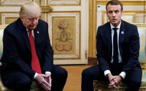 """فرنسا ترد بدبلوماسية على تغريدات ترامب بموقع """"تويتر"""""""
