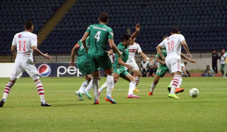 موعد مباراة اياب دور الـ 16 لبطولة كأس زايد بين الزمالك والاتحاد السكندري