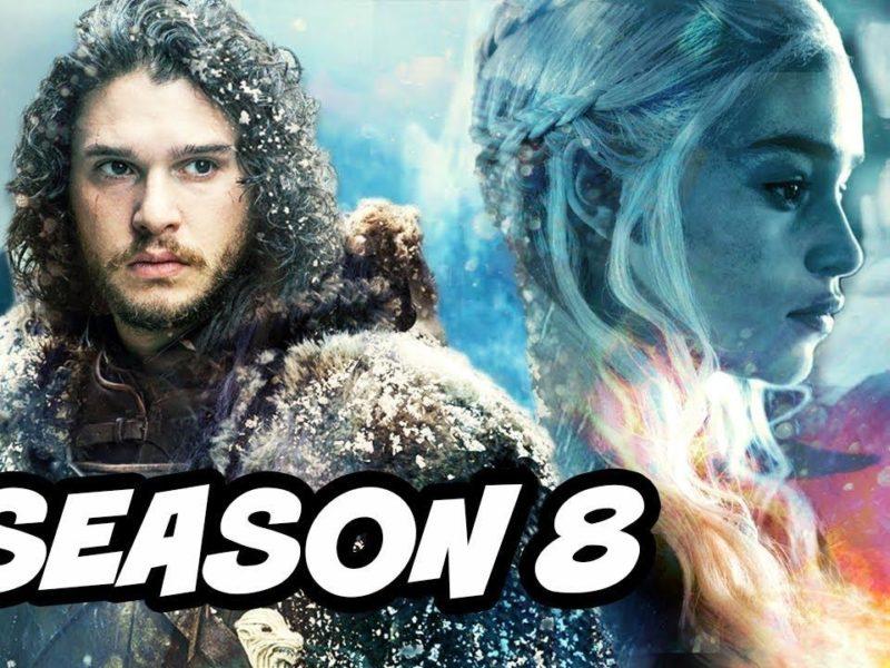 مسلسل Game of thrones: موعد عرض الموسم الثامن