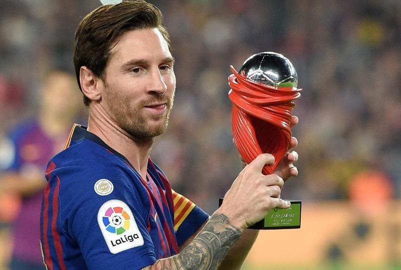 لقب جائزة ليونيل ميسي لأفضل لاعب في اسبانيا