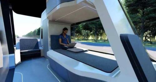 ابتكار فندق ذاتي القيادة.. تصميم بخدمات غير مسبوقة