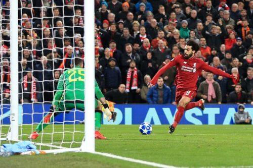 محمد صلاح يقود ليفربول للفوز على نابولي والتأهل لدور الـ16 من بطولة دوري ابطال اوروبا