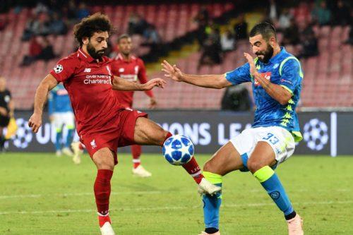 محمد صلاح في مهمة صعبة مع ليفربول امام نابولي بدوري ابطال اوروبا
