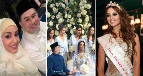 ملك ماليزيا يتنحى عن عرشه بعد الزواج المثير بملكة جمال روسيا