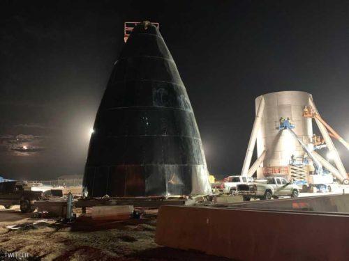 اللقطات الأولى لسفينة الفضاء التي ستقل البشر إلى المريخ
