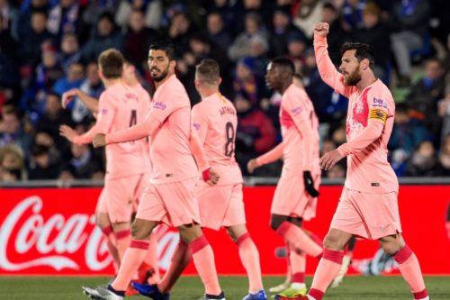 جدول ترتيب الدوري الاسباني 2018-19 بعد انتهاء الجولة 18