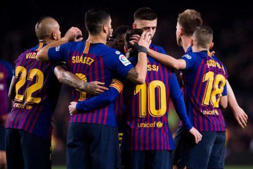 برشلونة يضرب إيبار بثلاثية نظيفة ويعزز صدارته للدوري الأسباني