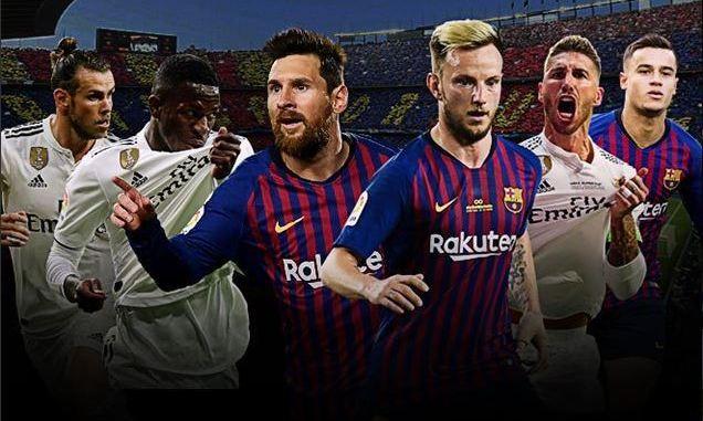 مباراة ريال مدريد وبرشلونة اليوم   تشكيلة الفريقين المتوقعة في كلاسيكو كأس الملك