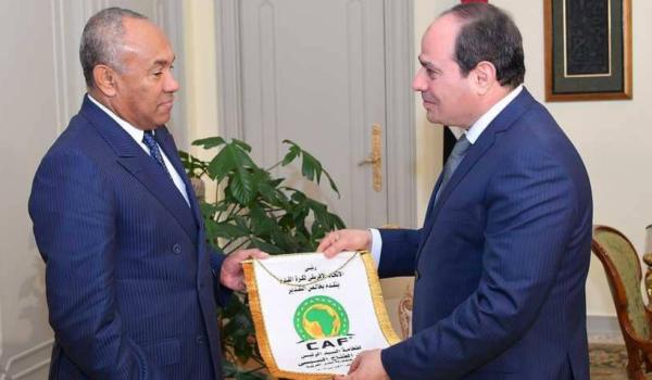 السيسي حريص قبل استضافة مصر لكأس أمم أفريقيا 2019