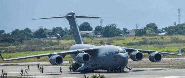 طائرات حربية أمريكية في طريقها إلى حدود فنزويلا