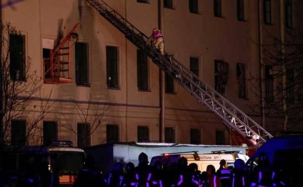 روسيا: سقوط مبنى جامعي وأنباء عن العشرات تحت الأنقاض