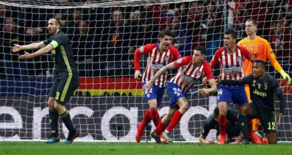 أتلتيكو مدريد يهزم يوفنتوس والسيتي يعود بفوز مثير من ملعب شالكه