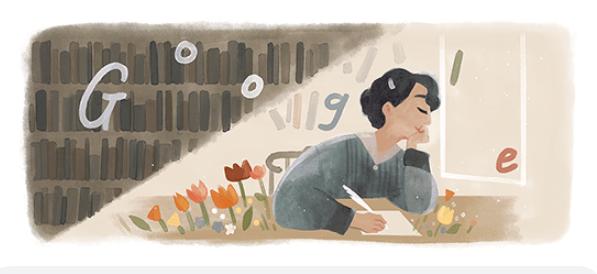"""محرك البحث جوجل يحتفل بميلاد """"جميلة العلايلي"""""""