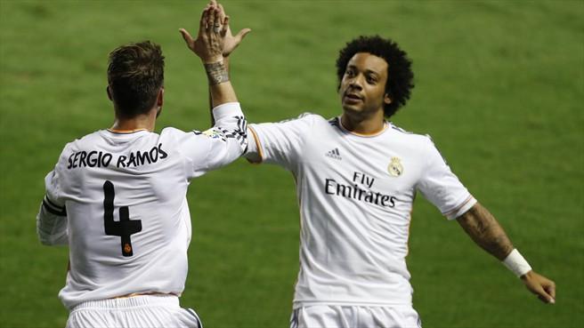 حقيقة شجار راموس مع مارسيلو في تدريبات ريال مدريد