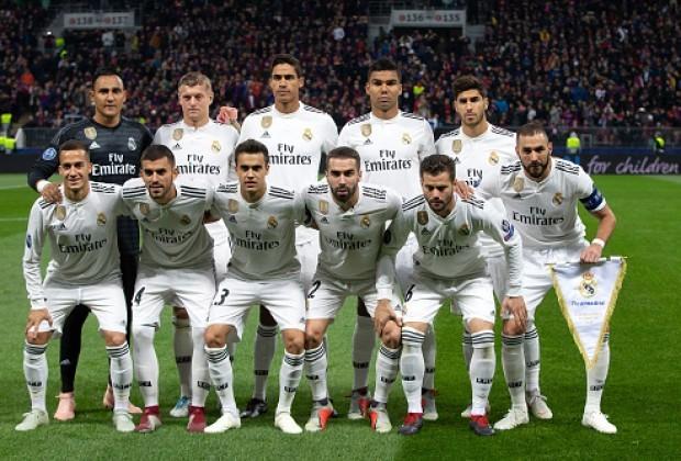 ريال مدريد يستقر على نجوم الفريق الحاليين