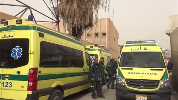 وفاة شخصين وإصابة 8 جراء حادث تصادم على طريق العريش