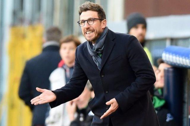 روما يقيل مدربه دي فرانشيسكو بعد النتائج السيئة هذا الموسم