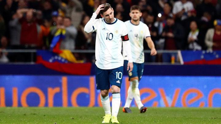 اصابة ميسي تقلق برشلونة بعد تأكيد غيابه عن مبارة المغرب الودية