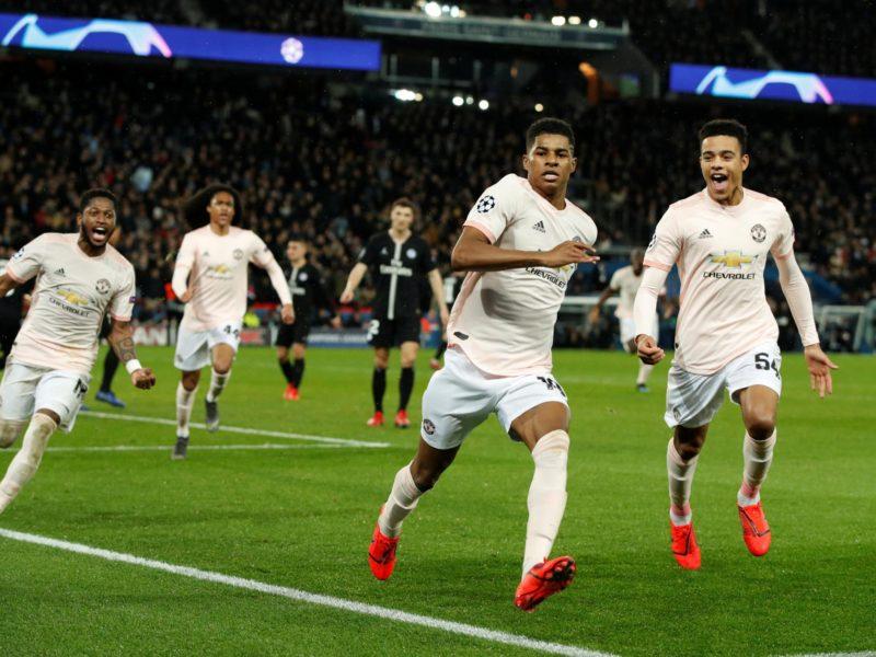 مانشستر يونايتد يقصى باريس سان جيرمان ويتأهل لربع نهائي دوري أبطال أوروبا