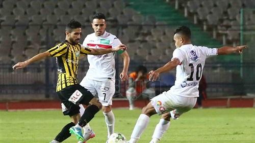 ملخص مباراة الزمالك والمقاولون العرب في الدوري المصري
