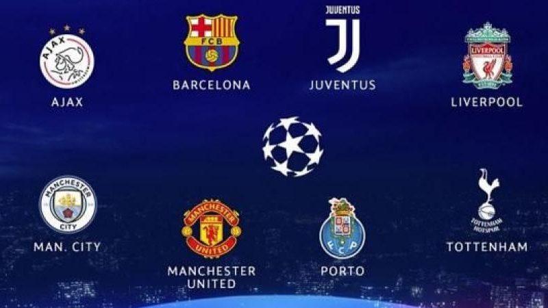 نتائج قرعة دوري ابطال اوروبا 2019 دور ربع النهائي