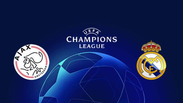 موعد مباراة ريال مدريد واياكس امستردام اليوم الثلاثاء والقنوات الناقلة دوري ابطال اوروبا