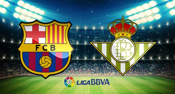موعد مباراة برشلونة اليوم ضد ريال بيتيس في الدوري الاسباني