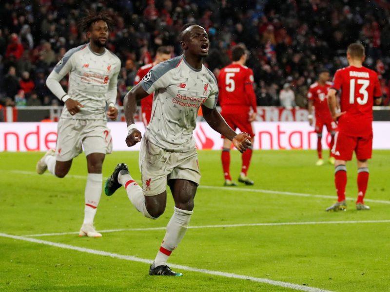 ليفربول يتأهل لربع نهائي الأبطال بثلاثية في مرمى بايرن ميونخ