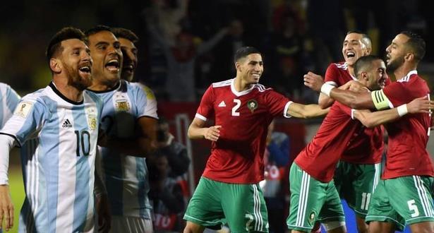 موعد مباراة الارجنتين والمغرب اليوم 26/3/2019 والقنوات الناقلة