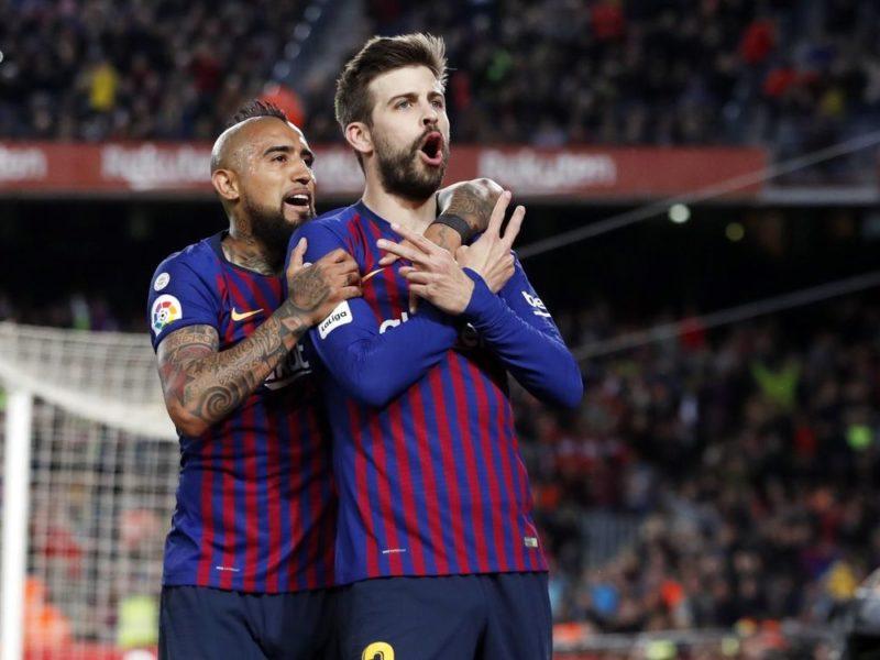 ملخص مباراة برشلونة ورايو فاليكانو اليوم في الدوري الاسباني