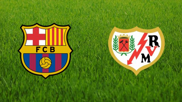 موعد مباراة برشلونة ورايو فاليكانو اليوم السبت الدوري الإسباني