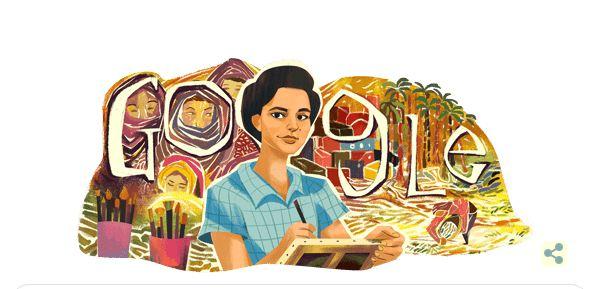 تعرف على الفنانة المصرية إنجي أفلاطون الذي احتفل جوجل بذكراها