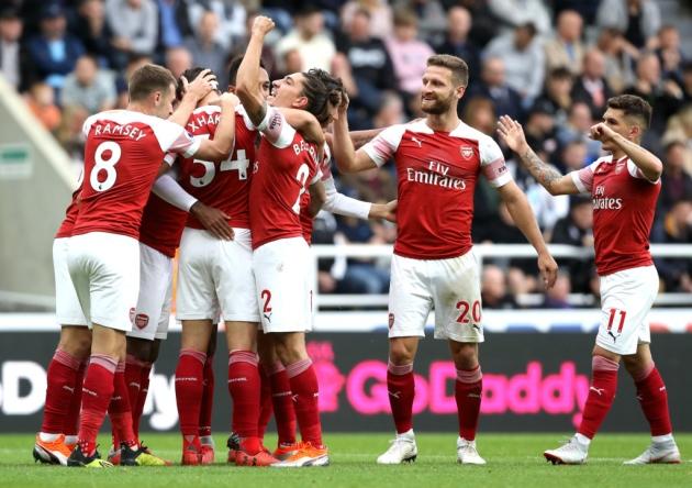 ارسنال يفوز على نيوكاسل ويصعد للمركز الثالث في ترتيب الدوري الإنجليزي