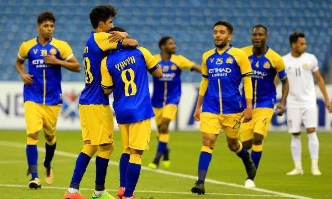 النصر يحقق فوزه الأول على حساب الزوراء بدوري أبطال آسيا