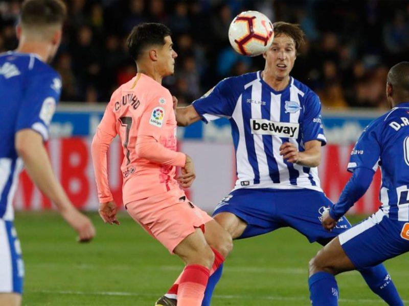 بعد فوزه على ألافيس.. خطوة واحدة تفصل برشلونة عن لقب الليجا