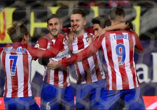 اتلتيكو مدريد يفوز على إيبار بصعوبة في الليجا