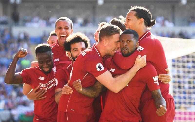 ليفربول يعود للصدارة بعد فوزه على كارديف بثنائية بالدوري الانجليزي