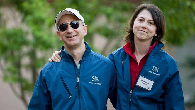 طليقة مؤسس شركة أمازون تدخل قائمة أغنى نساء العالم