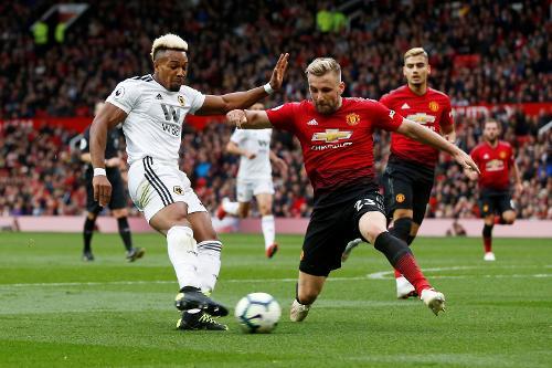 مانشستر يونايتد يواجه ولفرهامبتون ساعيا للمركز الرابع في الدوري الإنجليزي