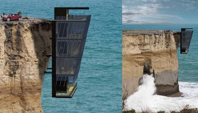 أفضل منزل يقام فوق الأرض لكنه مخيف