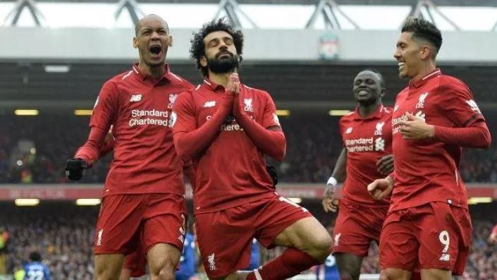 ليفربول يفوز على تشيلسي بثنائية ويستعيد صدارة الدوري الانجليزي