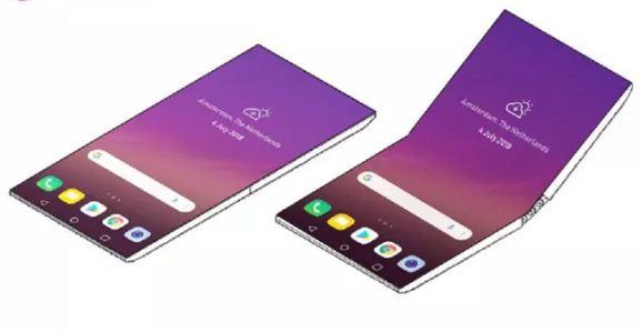هاتف ذكي جديد قابل للطي.. شاشة شفافة