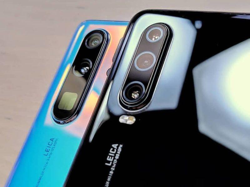 مواصفات هاتف هواوي بي P30 ثلاث كاميرات خلفية