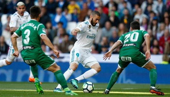 ريال مدريد يحل ضيفاً على ليجانيس في الدوري الاسباني