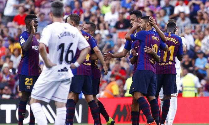 اختبار سهل ينتظر برشلونة أمام متذيل جدول الدوري الاسباني